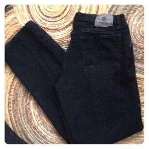Wrangler black denim jeans 34 x 34